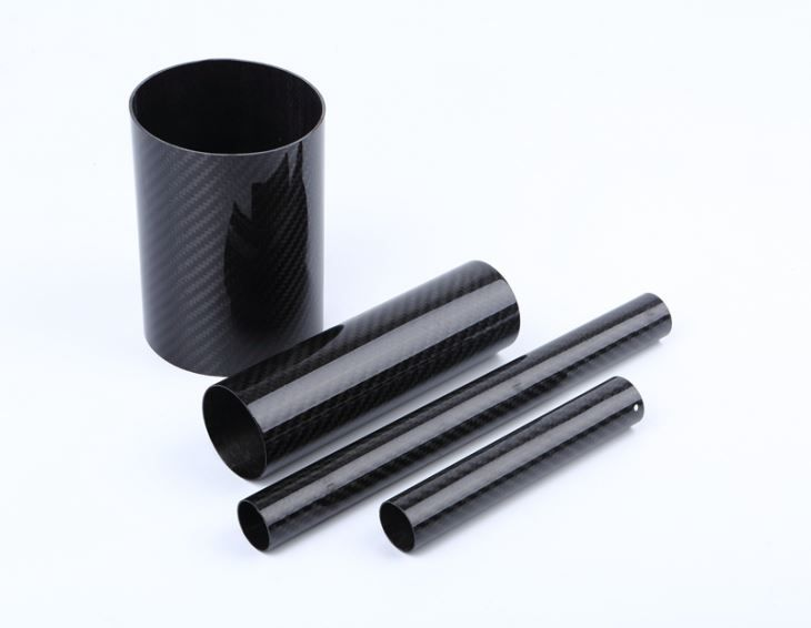 25 X 22mm Ultrahigh Modulus 3K Plain Carbon Fiber Tube For Sales