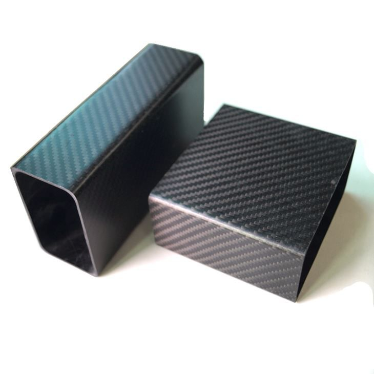 Custom 3k Carbon Fiber Rectangular Tube For Battery Box